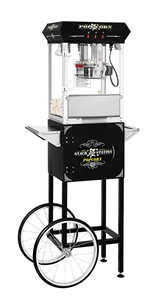 Picture of 71320-Black Snack Station Popcorn Machine with Cart 8oz