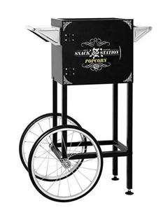 Picture of 71610 - Popcorn machine cart for 8oz machine BLACK Snack Station