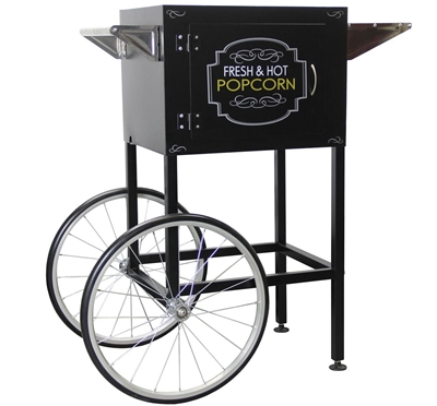Picture of 71609 - Popcorn machine cart for 8oz machine BLACK Oscar