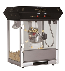 Image de Machine à popcorn Golden 4 oz de table Noire