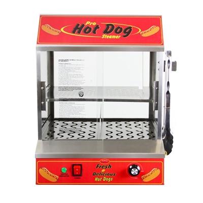 Image sur 77300 *Nouvelle* Machine à hot-dogs vapeurs BullsEye