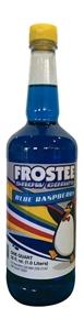 Image de 73020- Sirop à cônes glacés saveur framboise bleue
