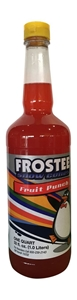 Image de 73022- Sirop à cônes glacés saveur punch aux fruits 1L.