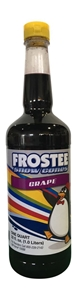 Image de 73023- Sirop à cônes glacés saveur raisin 1L.