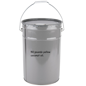 Picture of 70050 - Yellow coconut popping oil 50 LBS