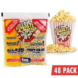 Picture of 70104-Box of 48 prepacked portions of popcorn / 4oz