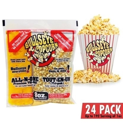 Picture of 70108-Box of 24 prepacked portions of popcorn / 8oz