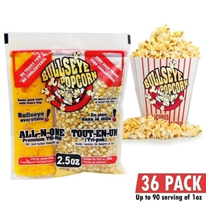 Image de 70102-Box of 36 prepacked portions of popcorn / 2.5 oz