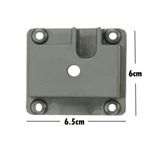 Picture of 71820-Gear Plate receiver  for popcorn machine( 6cm x 6.5cm) |  4oz & 8oz