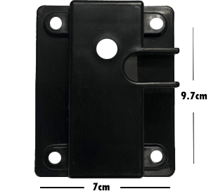 Picture of 71823-Gear Plate receiver  for popcorn machine ( 9.7cmx7cm) |  16oz old serie