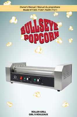 Image sur Manuel Instruction pour vitre de machine à hot dog #77205 - 77207 - 77209 - 77211