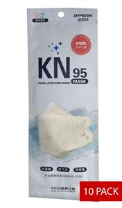 Image de Boite de 10 Masque de protection respiratoire KN95