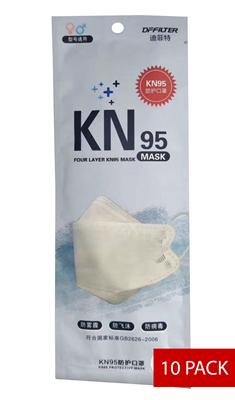 Image sur Boite de 10 Masque de protection respiratoire KN95